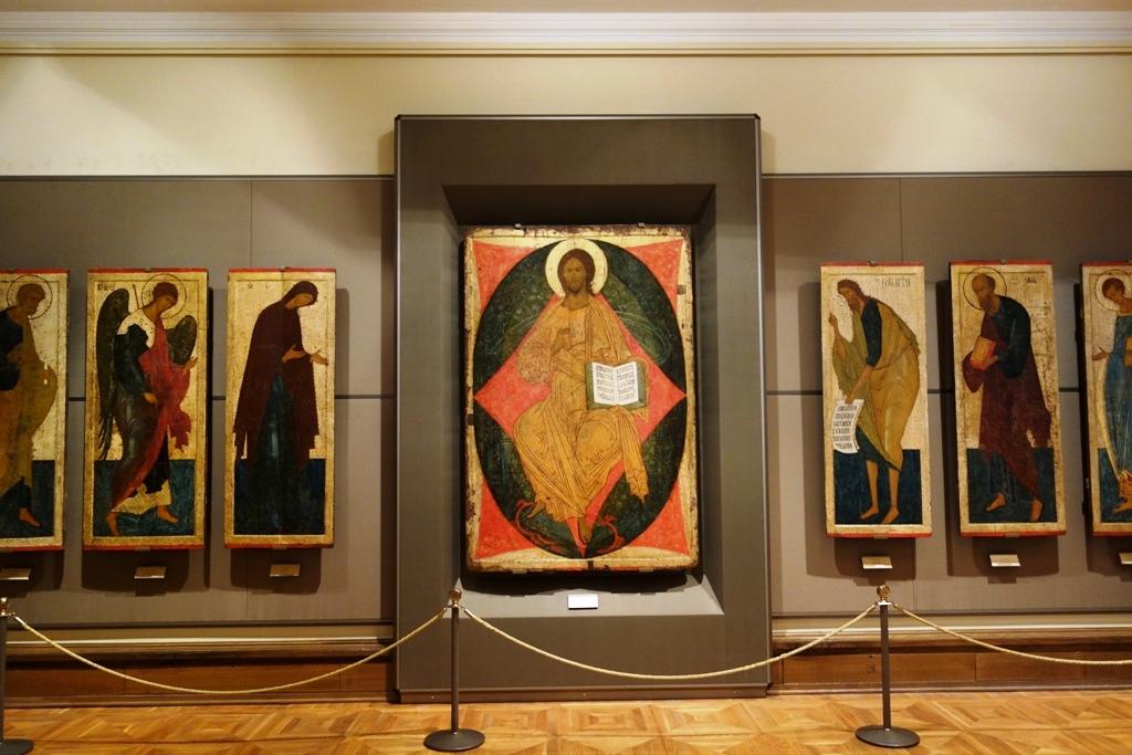 トレチャコフ美術館のイコン画2